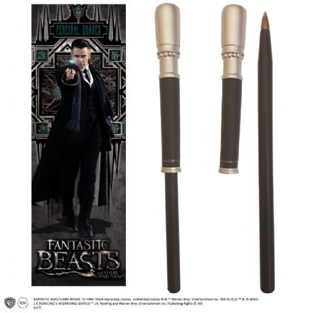 Percival Graves Wand Pen and Bookmark